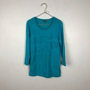 Vince Camuto Ruffled Sweater Size M #1549